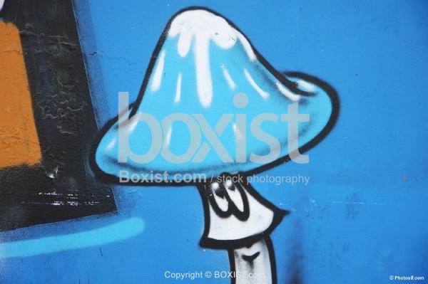 Mushroom Graffiti