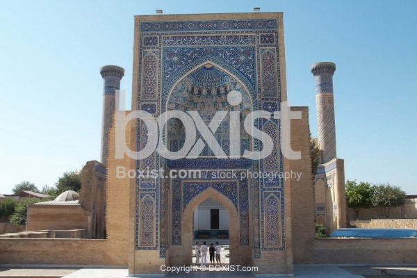 Bukhara Medressa Gate