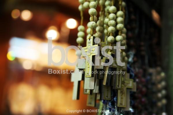 Bulk of Rosary Beads Crosses for Sale