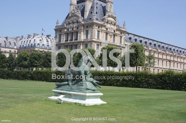 Tuilerie Garden in Paris