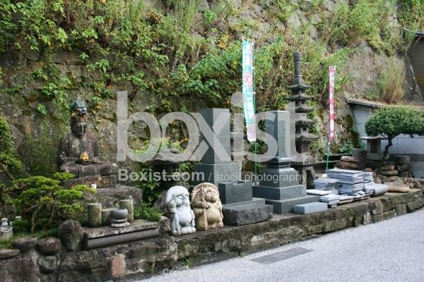 Buddhist Sculptures in Nagasaki
