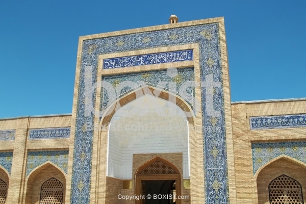 Mosque Entrance in Bukhara
