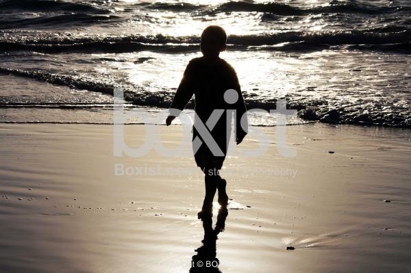 Kid and Ocean