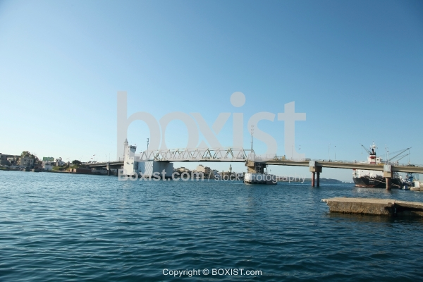 Bridge of Bizerte Port