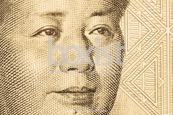 Mao Zedong Face Portrait