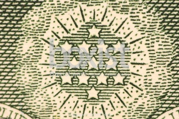 Thirteen Stars of the Dollar Great Seal