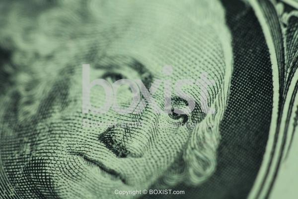 Dollar Details with George Washington Eye