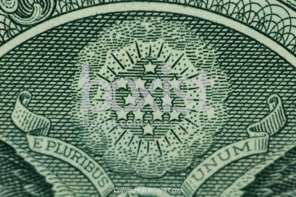 13 Stars on One Dollar Bill