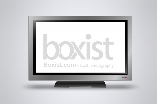 Television With Blank Screen