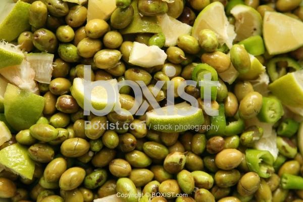 Fresh Pickled Olives