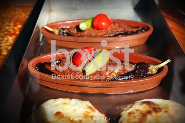 Meal of Eggplant with Meat