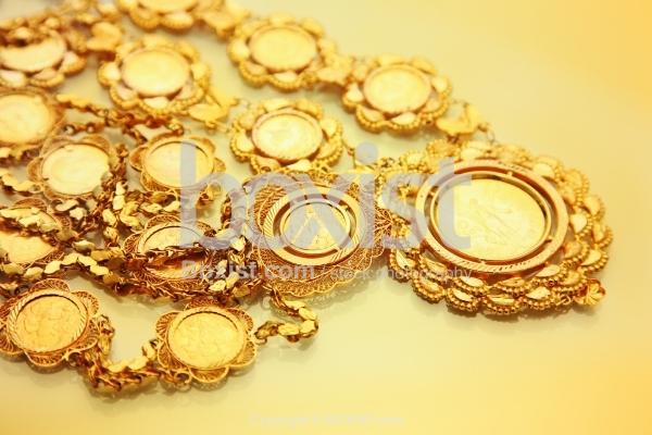 Pure Gold Coins Pendant