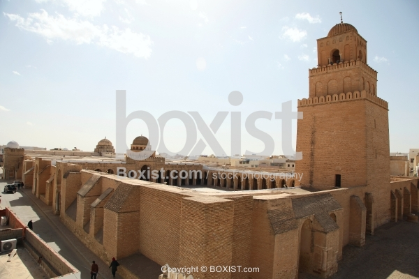 View of The Great Mosque of Kairouan