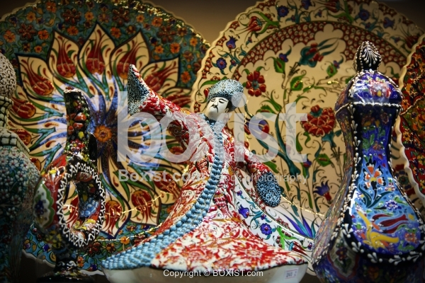 Whirling Dervish Ceramic Art Piece