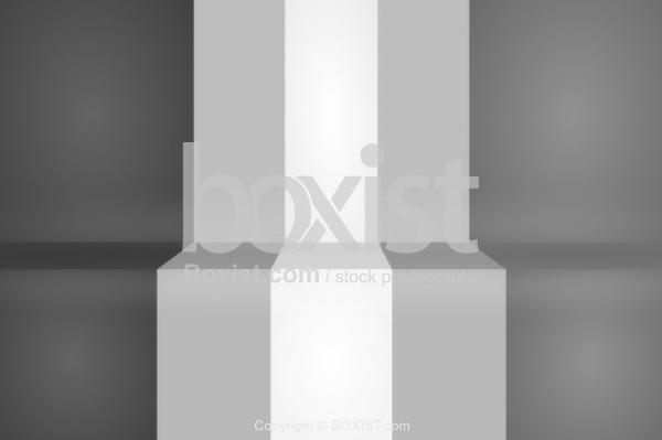 3D Gray Stripes Background