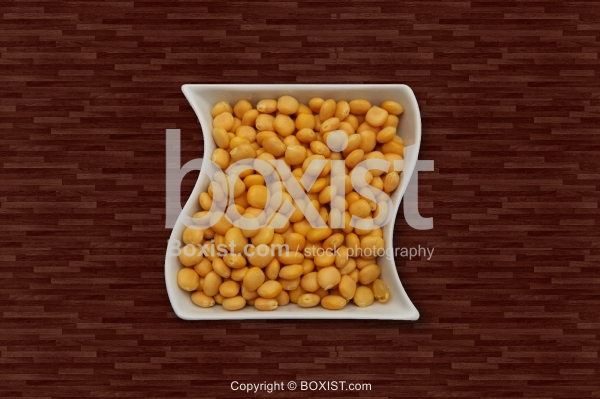 Lupini Beans In Plate