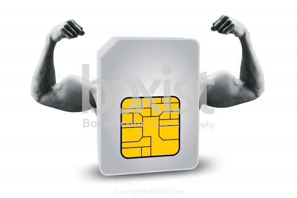 Sim Card With Strong Muscles