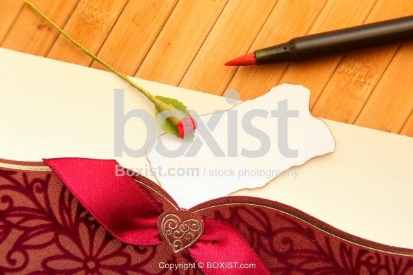Blank Romantic Card