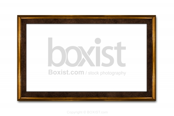 Framed Picture With Blank Space On White Wall