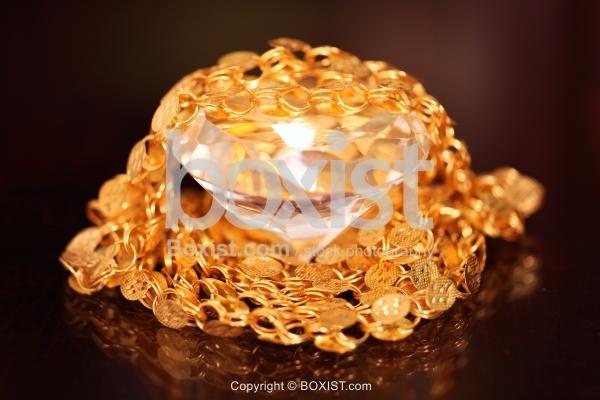 Gold And Diamond