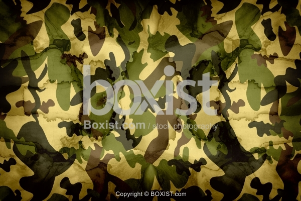 Grunge Camouflage Army Texture