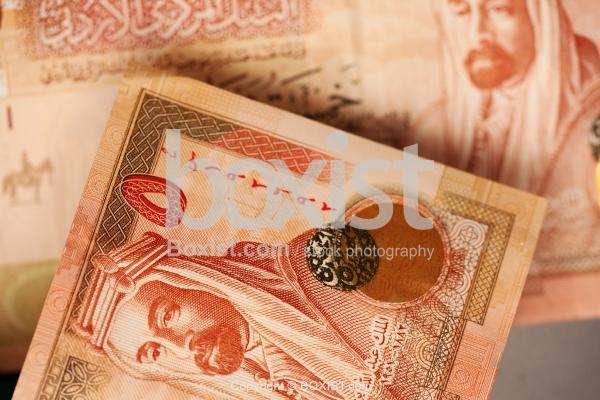 King Abdullah Featured On Jordanian Five Dinars Banknotes