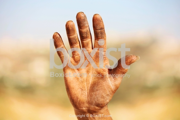 Old Man Dirty Hand