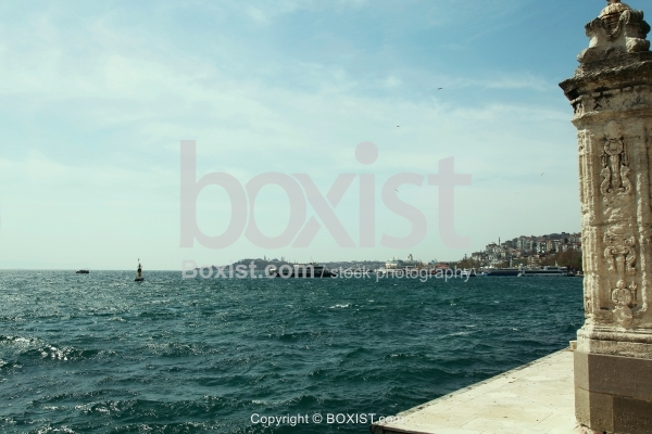 Bosphorus View From Inside Dolmabahce
