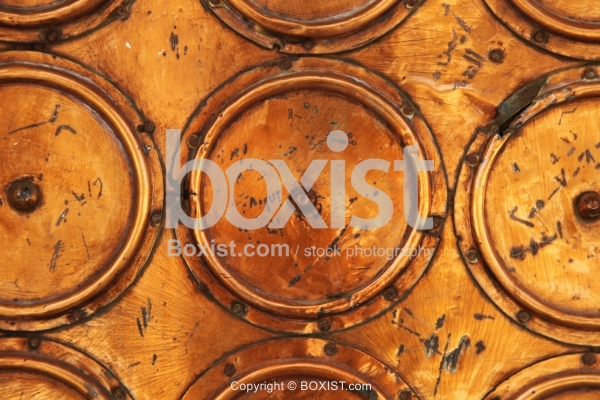 Round Copper Wall Cover