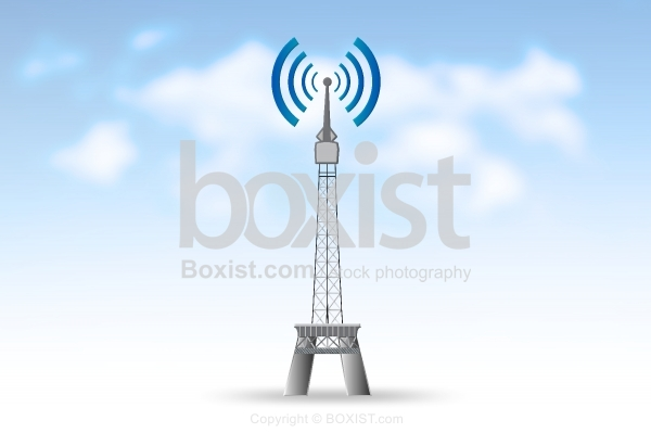 Wifi Tower Clipart