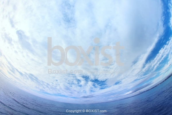 Sea View With Fisheye Effect