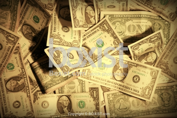Stack Of One Dollar Bill