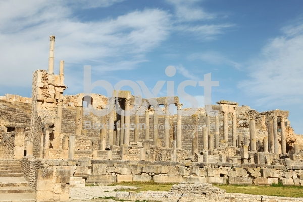 Theatre Of Dougga Tunisia