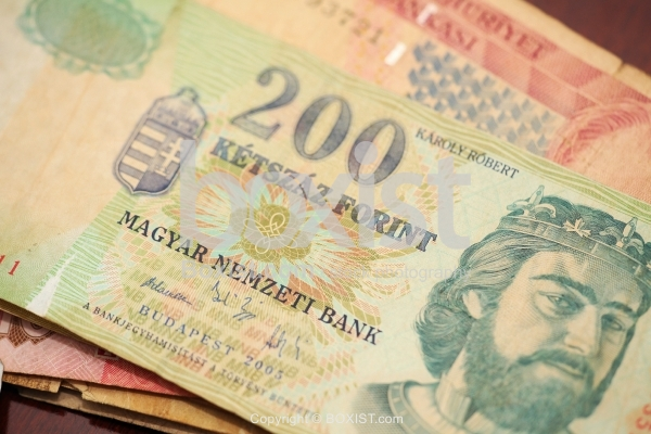Two Hundred Hungarian Forint Banknote