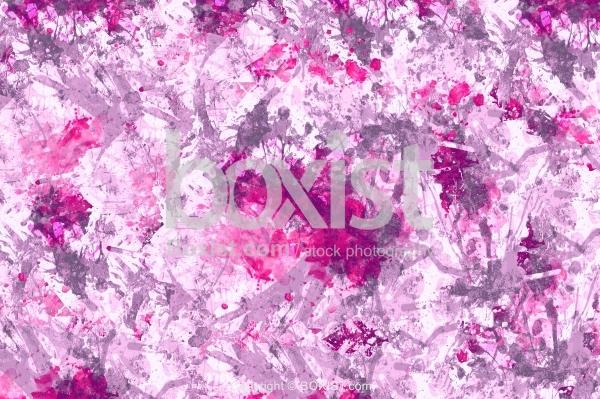 Grunge Pink And Purple Splatter Background