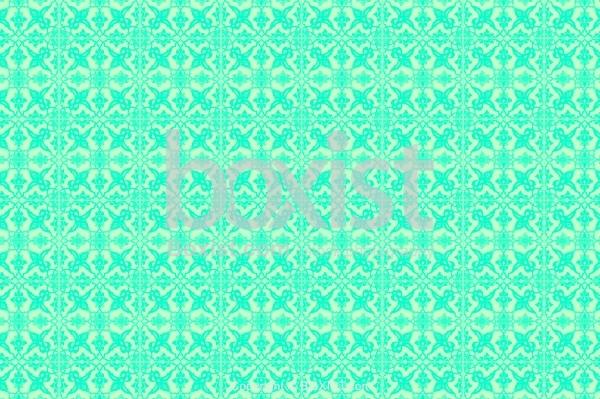 Arabesque Green Tiles Texture