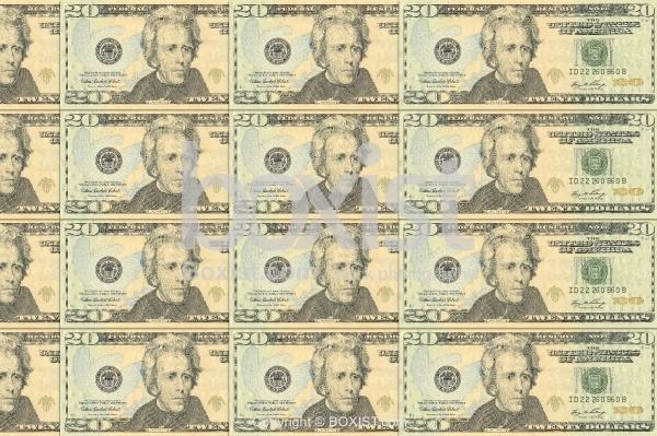 Background Of Twenty US Dollars