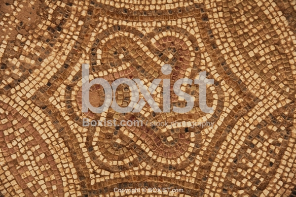 Mosaic of Hexagon Shape Roman Knot