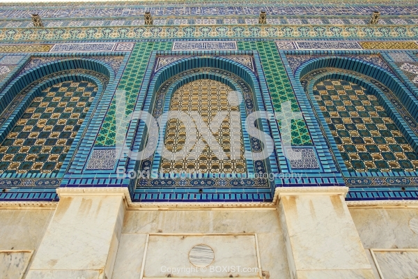 Colorful Windows of Dome of the Rock
