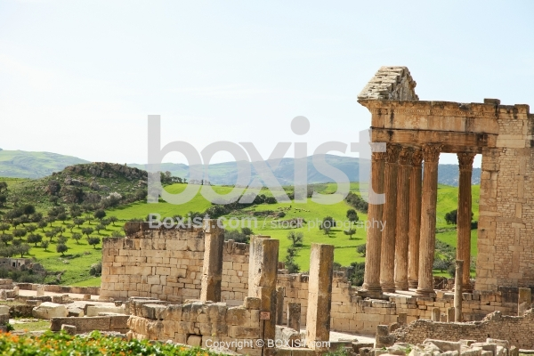 Ancient Roman City Of Dougga