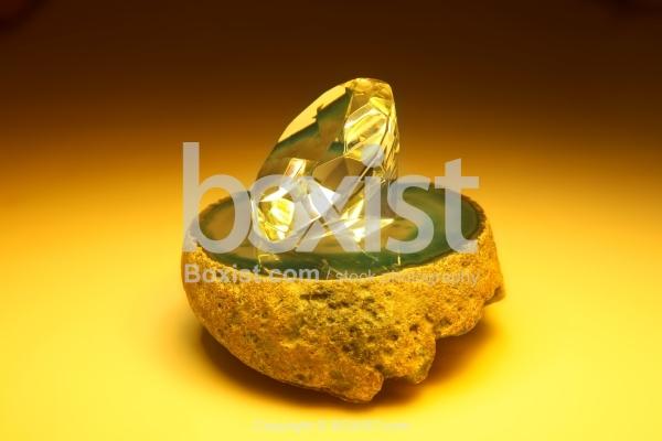 Diamond On Stone