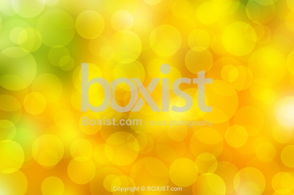 Yellow And Green Color Bokeh Background