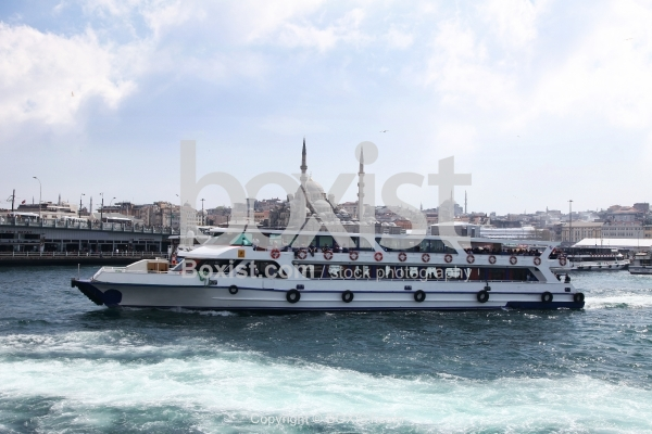 Ferry Cruise on the Golden Horn in Istanbul Turkey