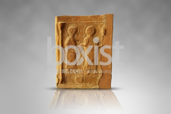Early Christian Terracotta Carved Plaque