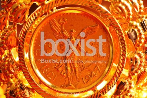 Mexico Gold Fifty Pesos
