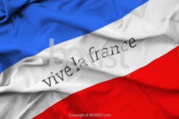 Vive La France Flag
