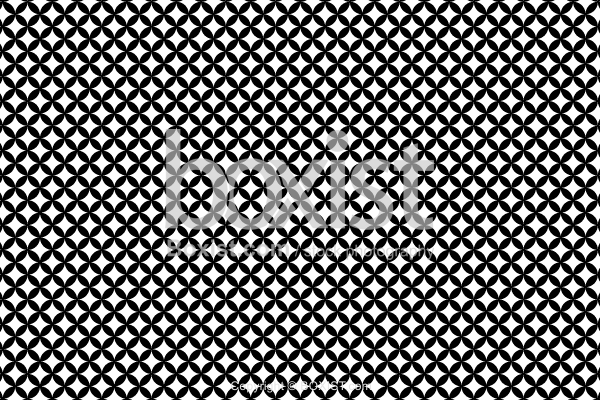 Black and White Combined Circles Pattern
