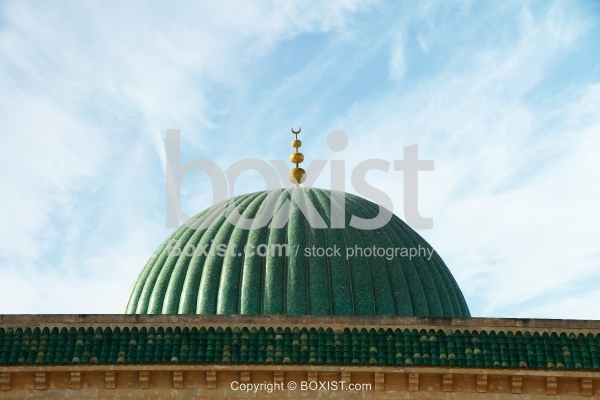 Decorative Islamic Green Dome