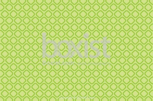 Green Circular Square Pattern Background