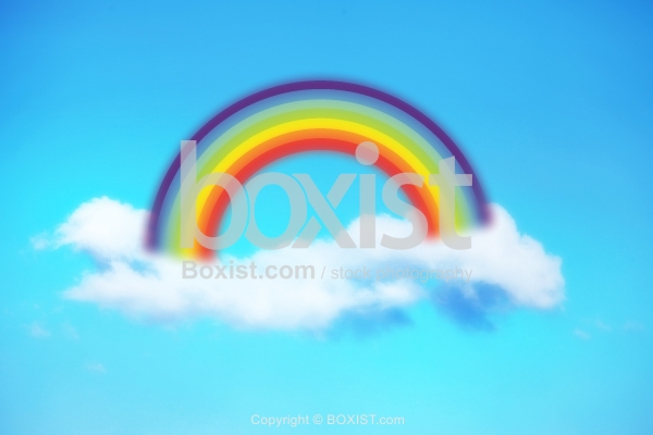 Rainbow Over The Clouds Concept Design